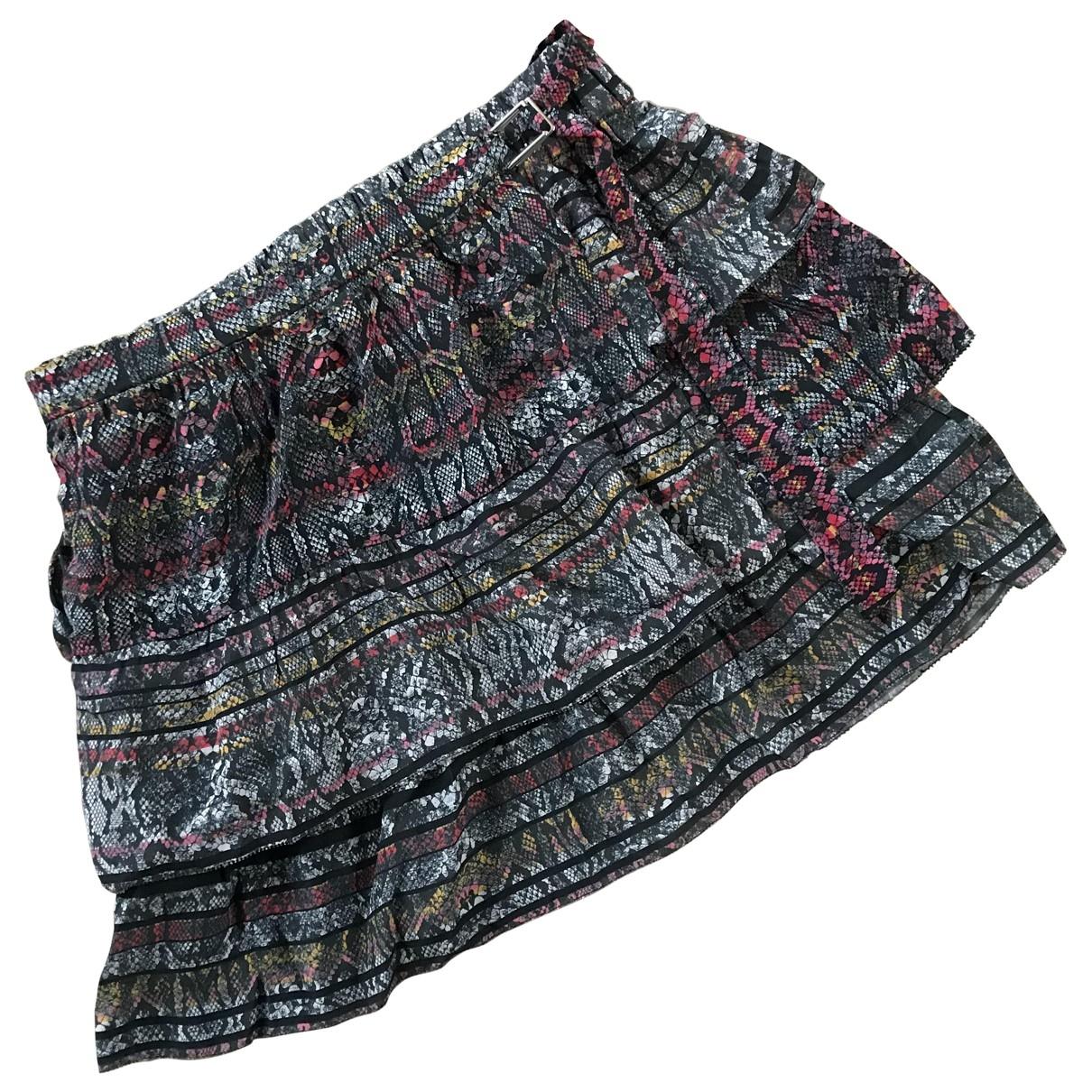 Iro - Jupe   pour femme en soie - multicolore