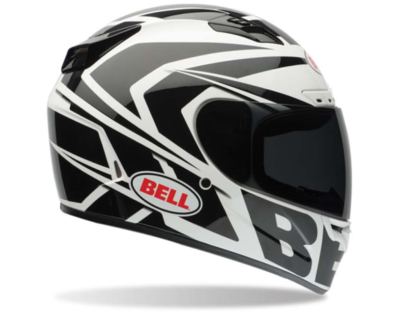 Bell Racing 7061720 Vortex Grinder Black Solid Helmet 57-58 | MD