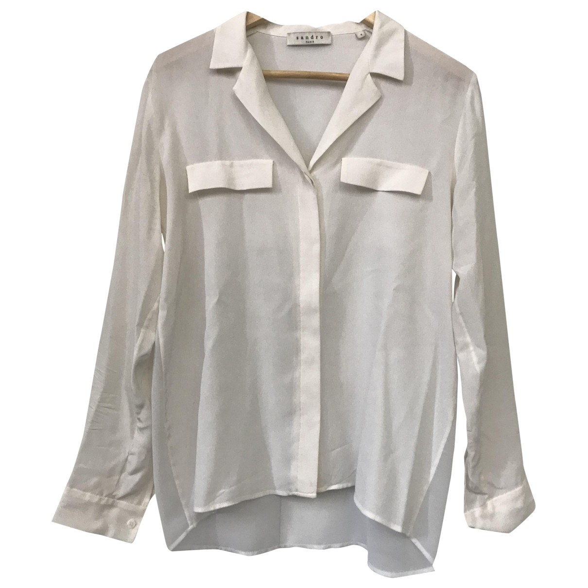 Sandro \N Top in  Weiss Polyester