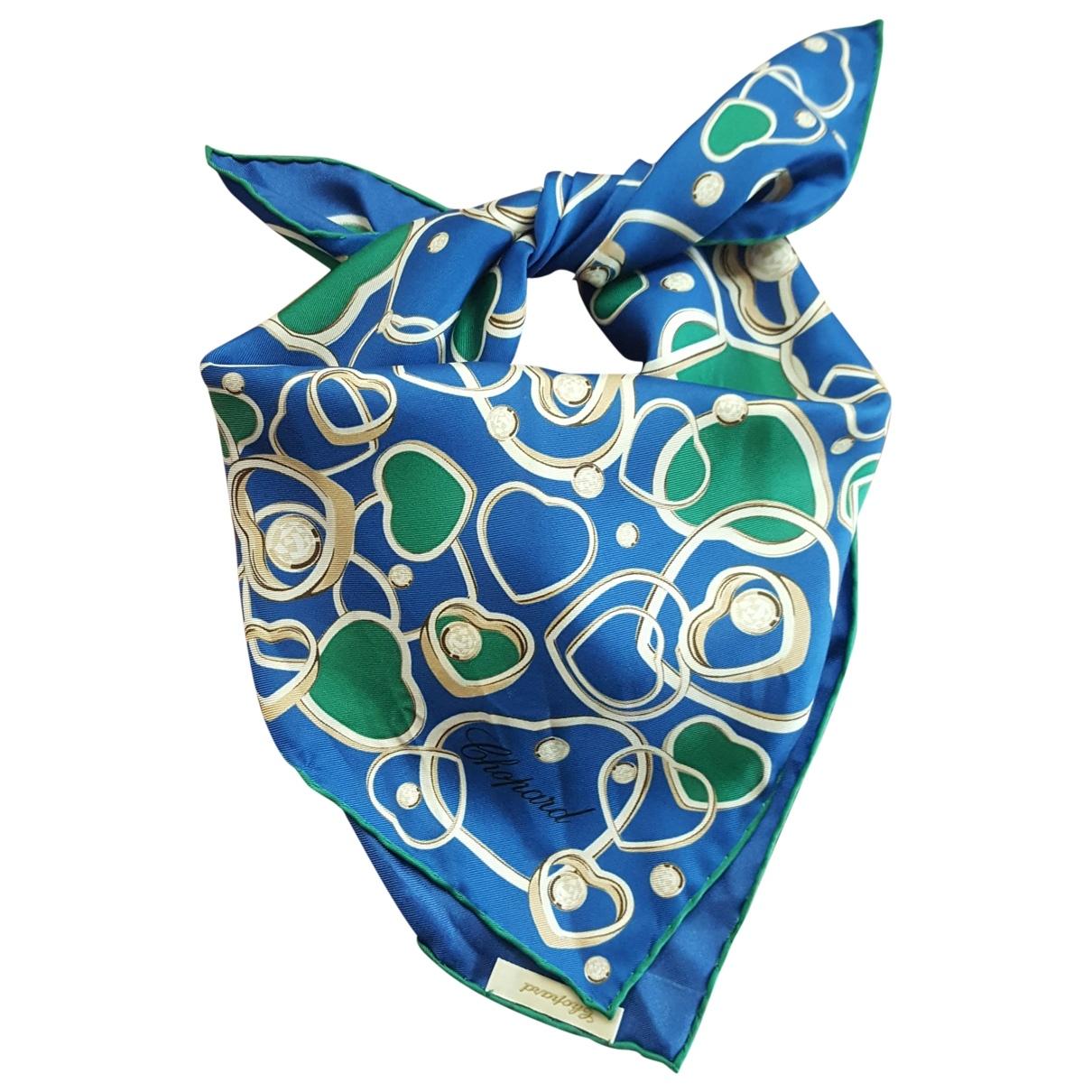 Chopard \N Schal in  Blau Seide