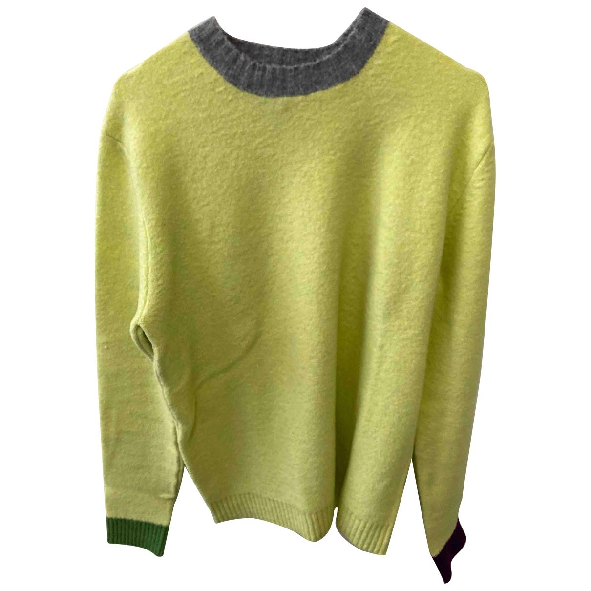 Mauro Grifoni \N Yellow Knitwear & Sweatshirts for Men 48 IT