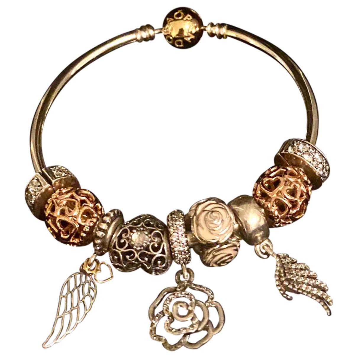 Pandora - Bracelet   pour femme en plaque or - rose
