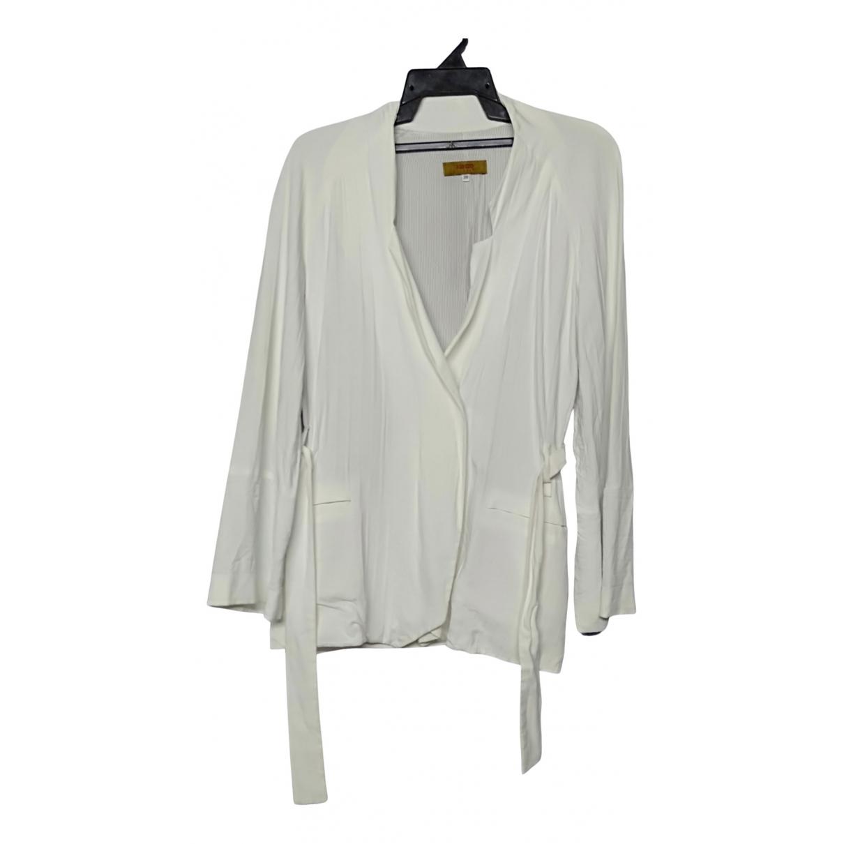 Kenzo - Veste   pour femme en coton - blanc