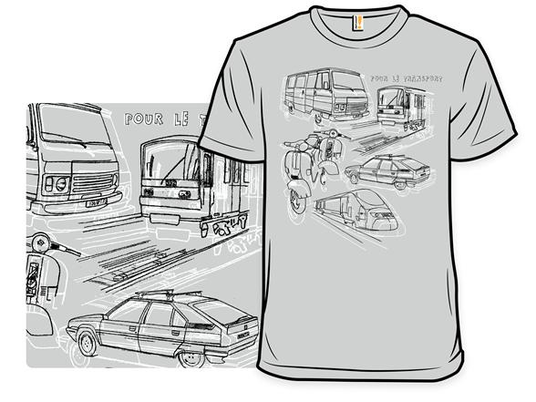 Pour Le Transport T Shirt