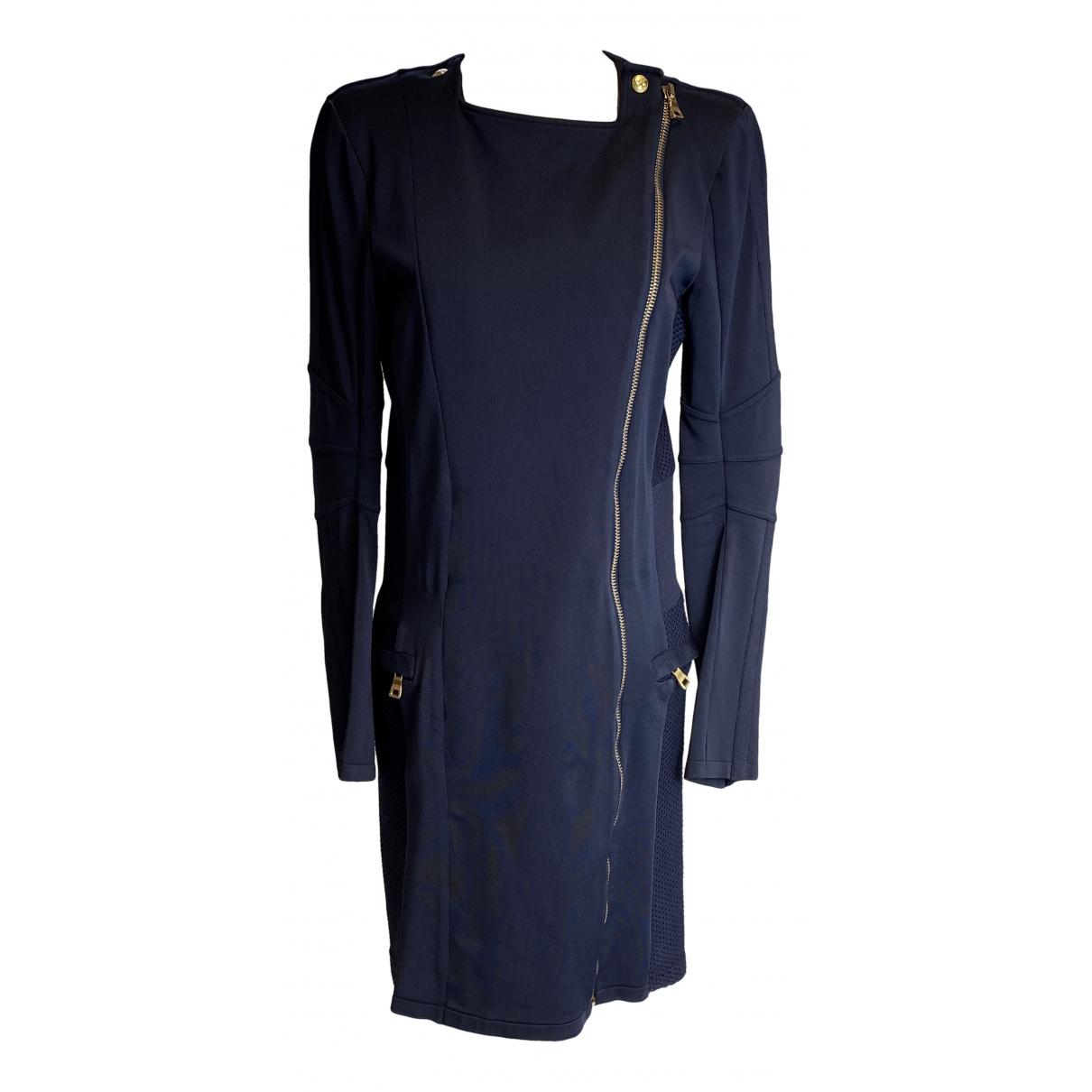 Balmain - Robe   pour femme - bleu