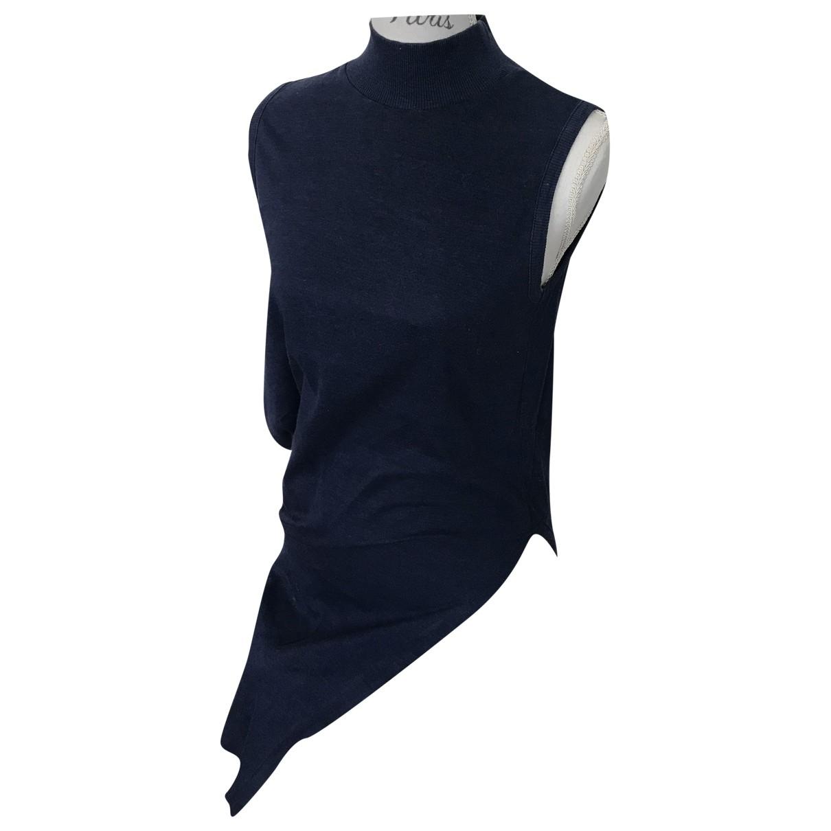 Issey Miyake \N Kleid in  Blau Baumwolle