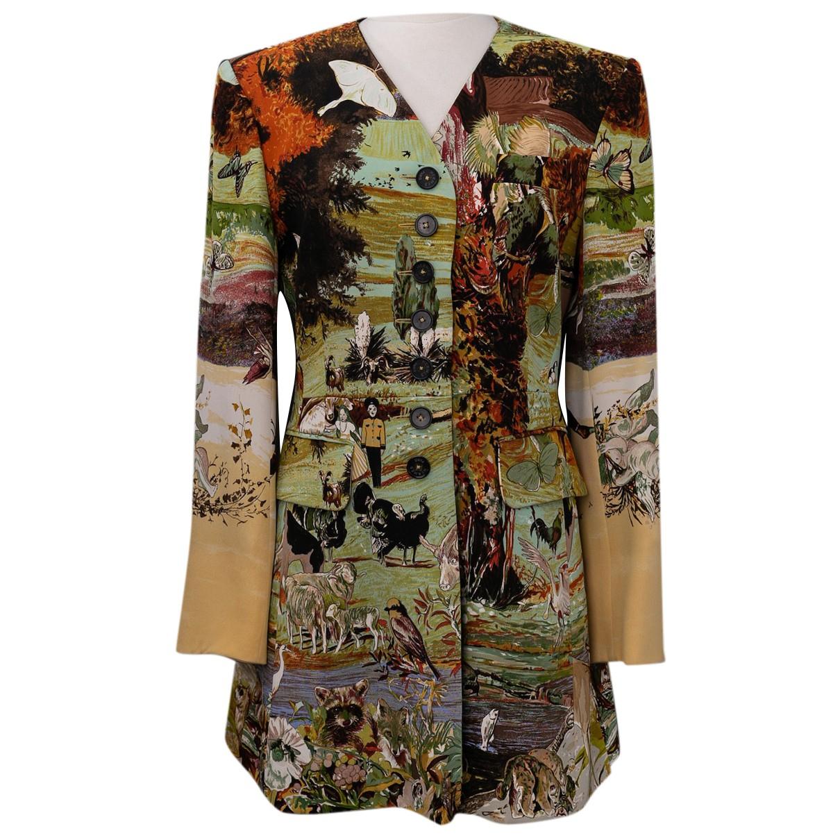 Hermes - Veste   pour femme en soie - multicolore