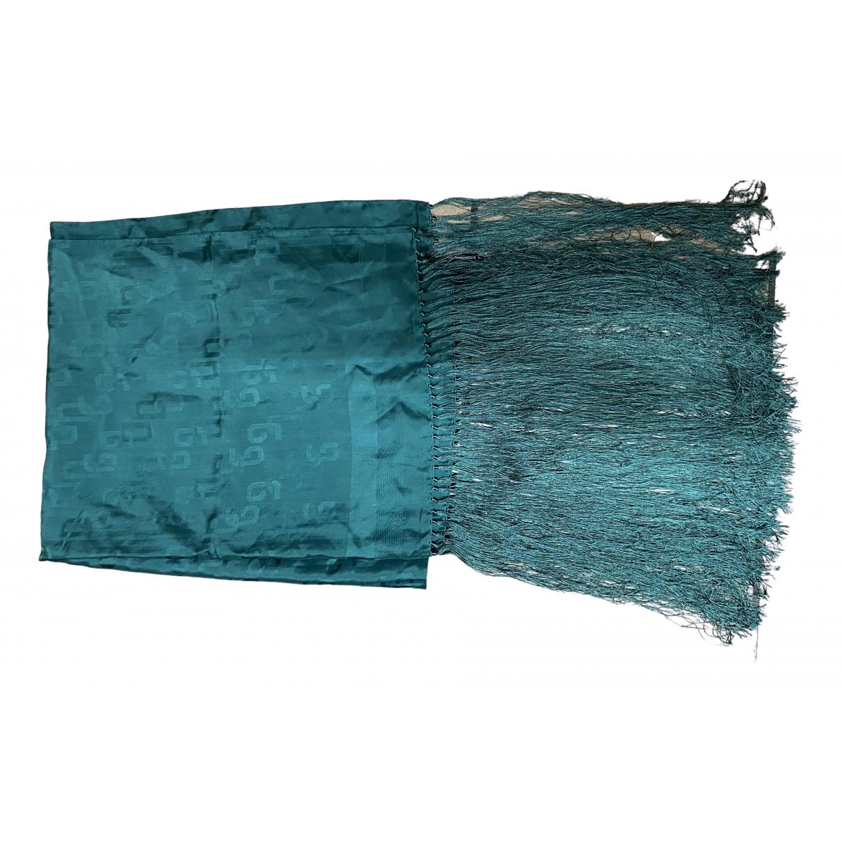 Dolce & Gabbana \N Green Silk scarf for Women \N