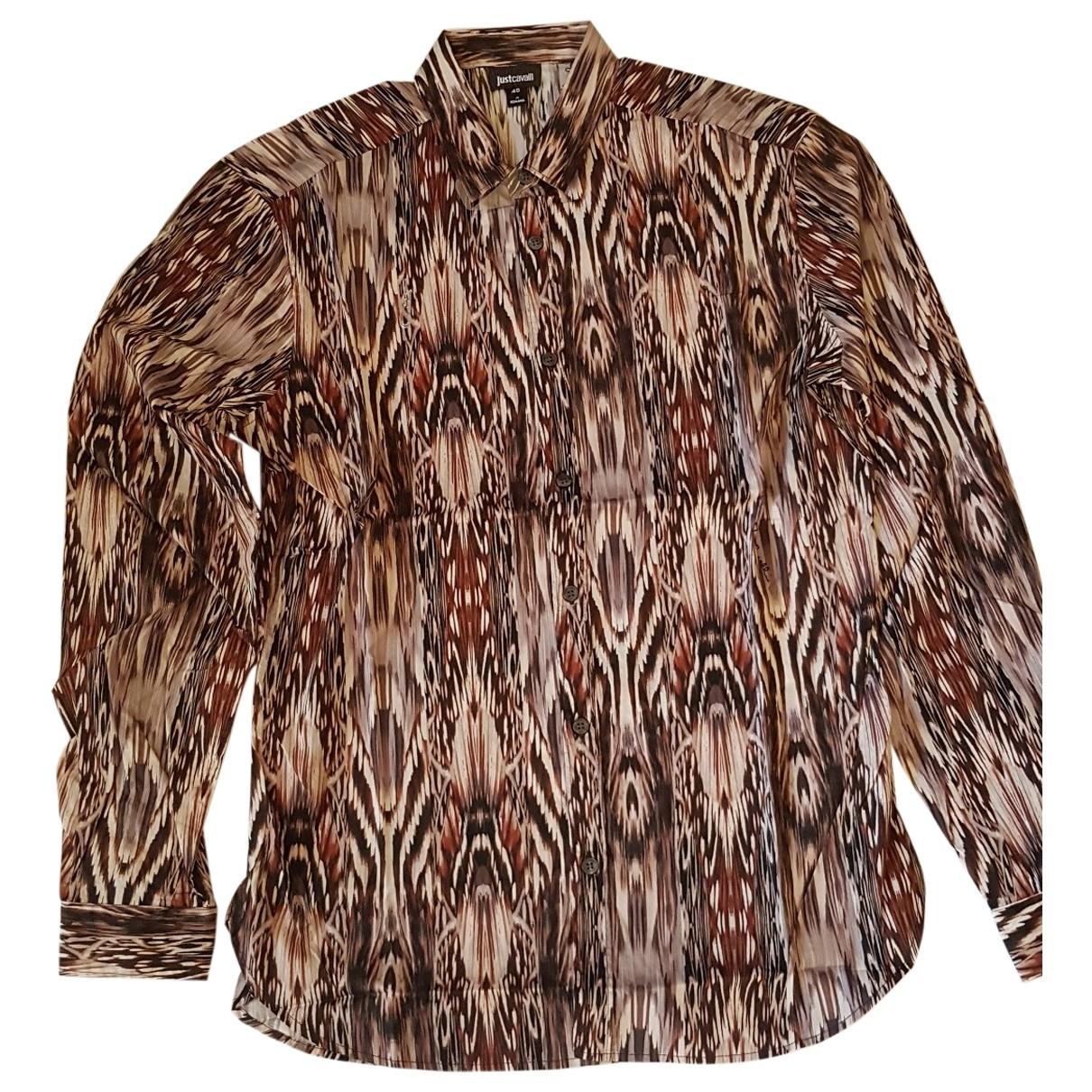 Just Cavalli - Chemises   pour homme en coton