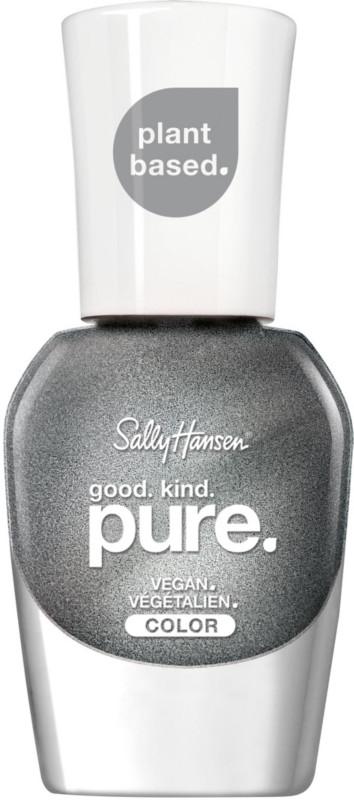 Good. Kind. Pure. Nail Color - Meteorite (metallic silver)