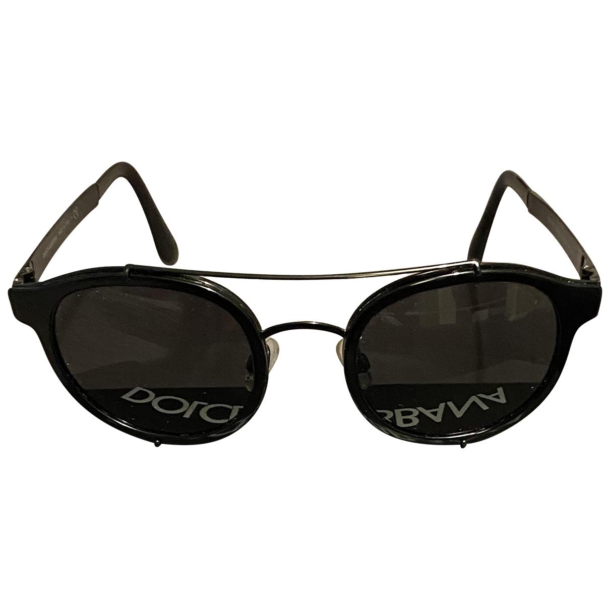 Dolce & Gabbana N Black Metal Sunglasses for Men N