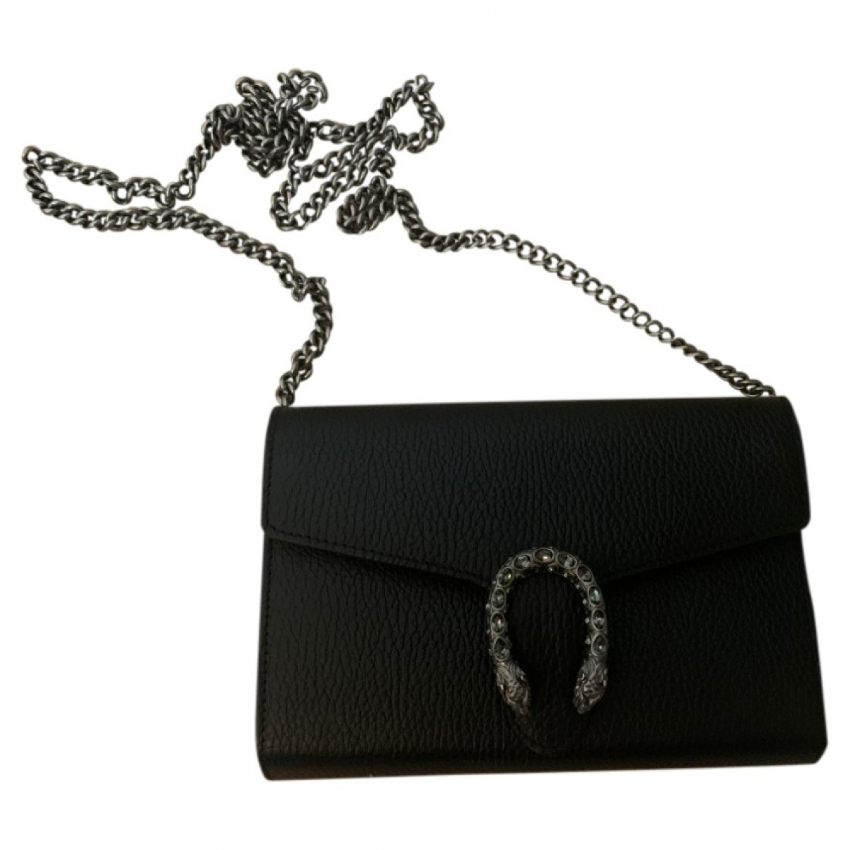 Gucci Dionysus Black Leather handbag for Women \N
