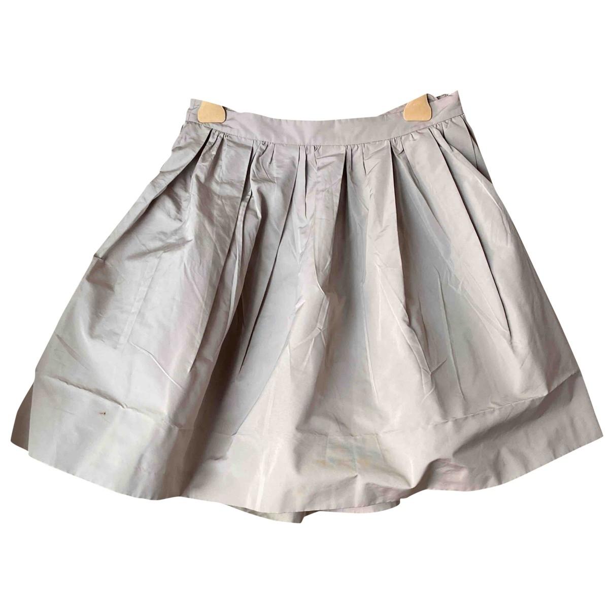 Miu Miu \N Beige skirt for Women 42 IT