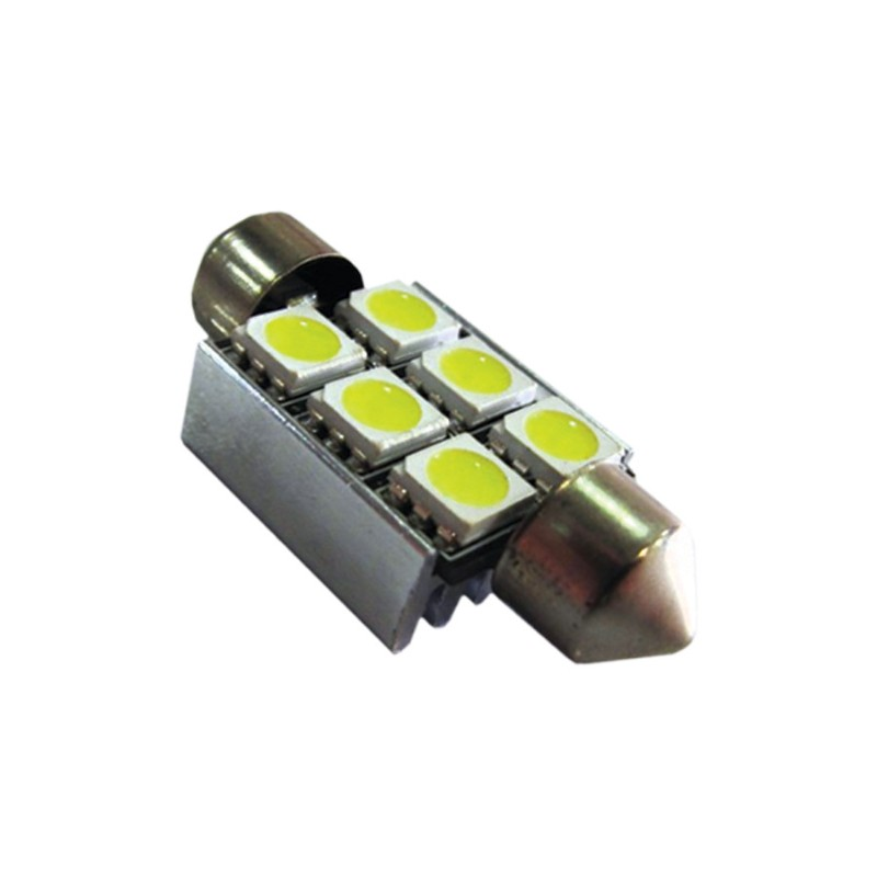 Race Sport Lighting RS-36MM-5050CAN-R Red 36mm 5050 Canbus LED  Individual