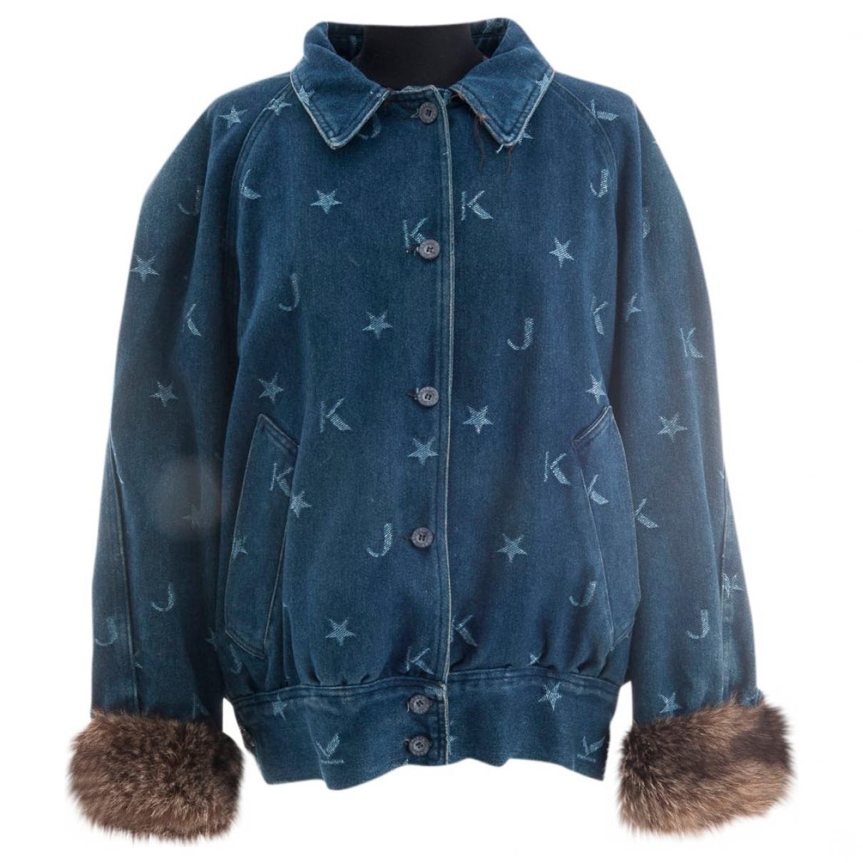 Krizia \N Blue Denim - Jeans jacket for Women L International
