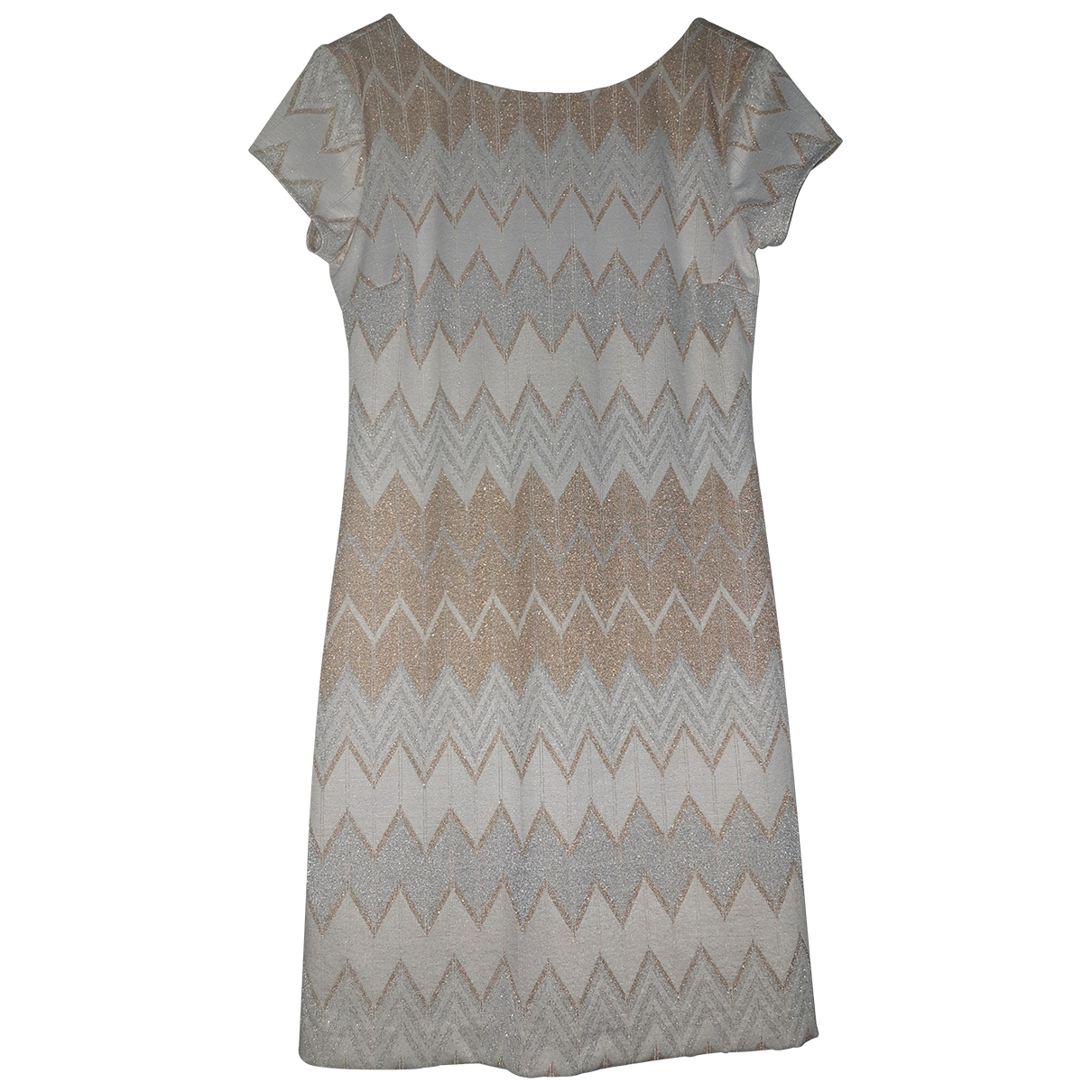 Non Signé / Unsigned \N Metallic dress for Women S International