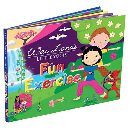 Wai Lana Little Yogis Fun Exercise Book - 1.0 Each