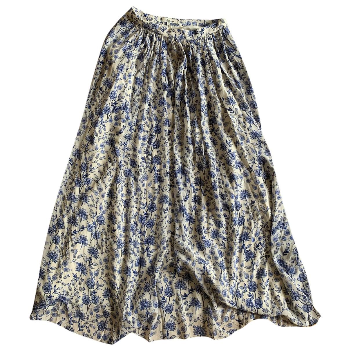 Somerset \N White Silk skirt for Women 8 UK