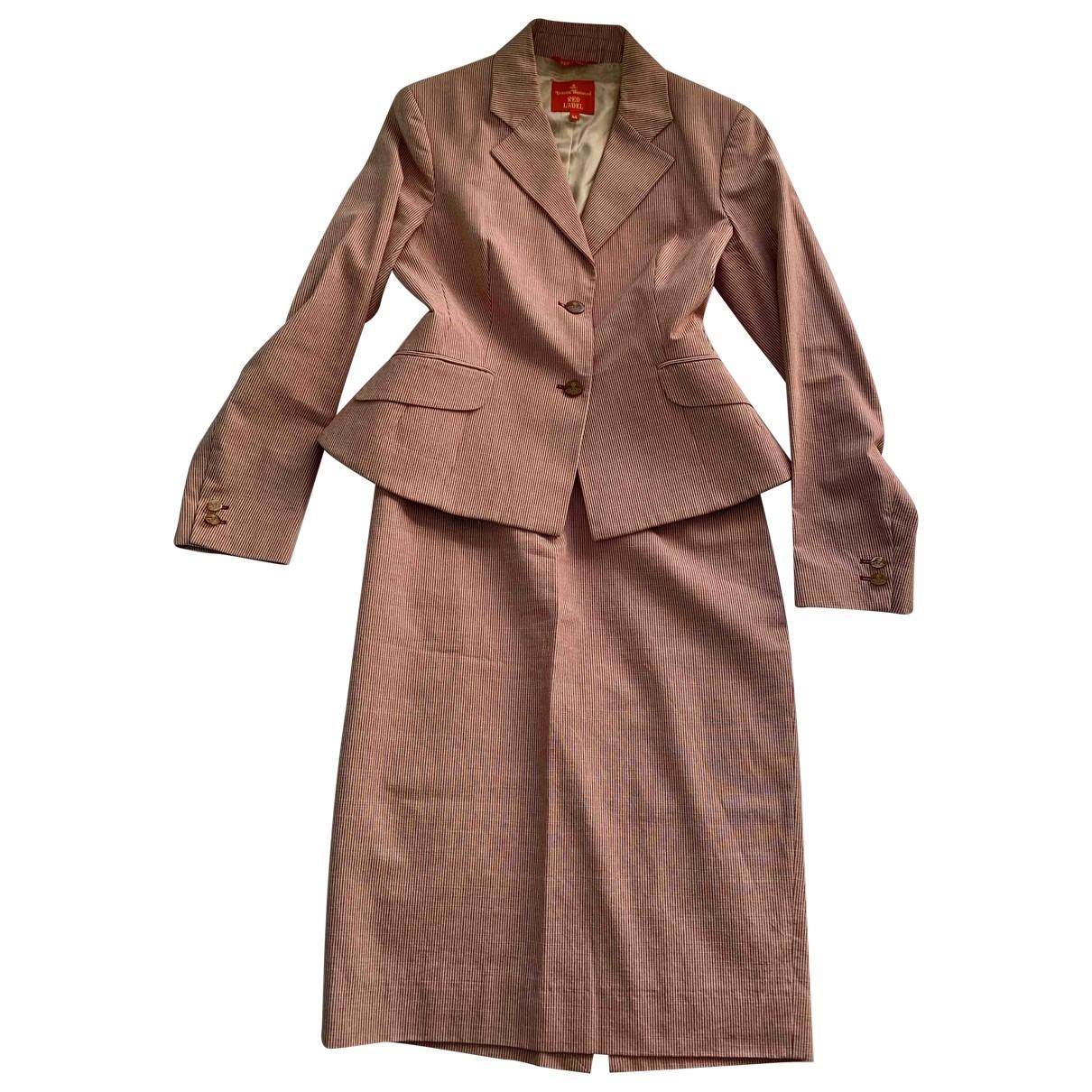 Vivienne Westwood Red Label - Veste   pour femme en coton - rose