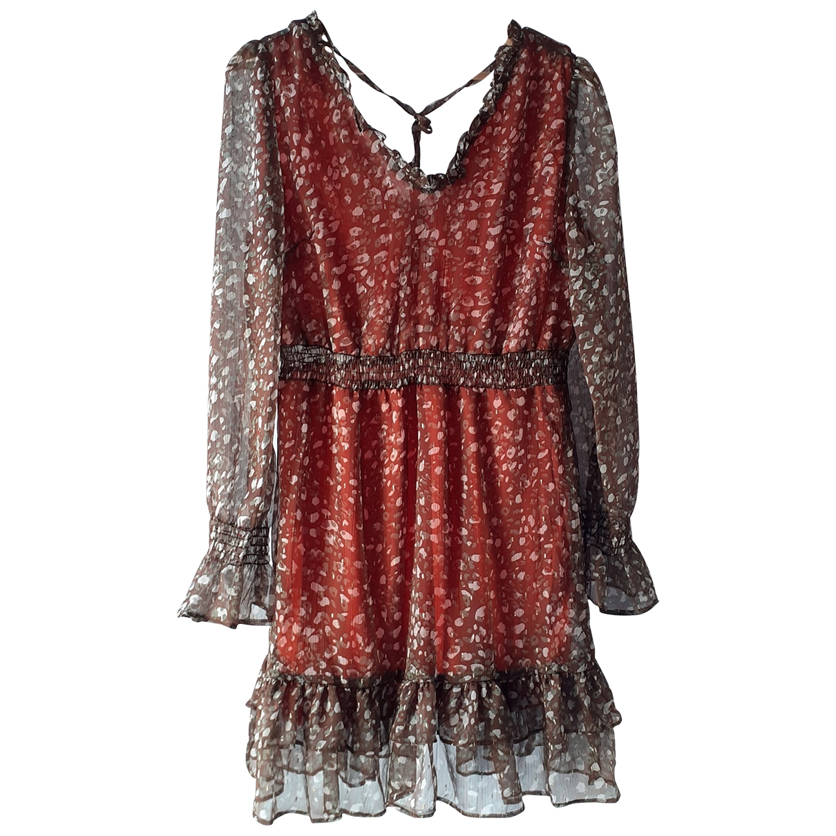 Non Signé / Unsigned \N Brown dress for Women S International
