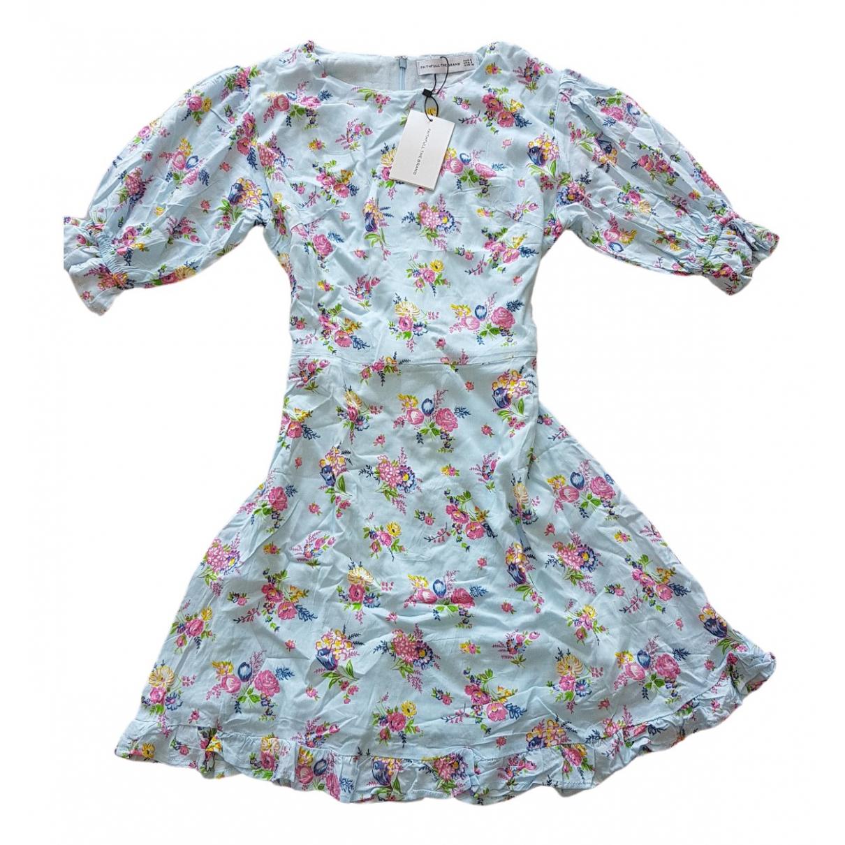 Mini vestido Faithfull The Brand