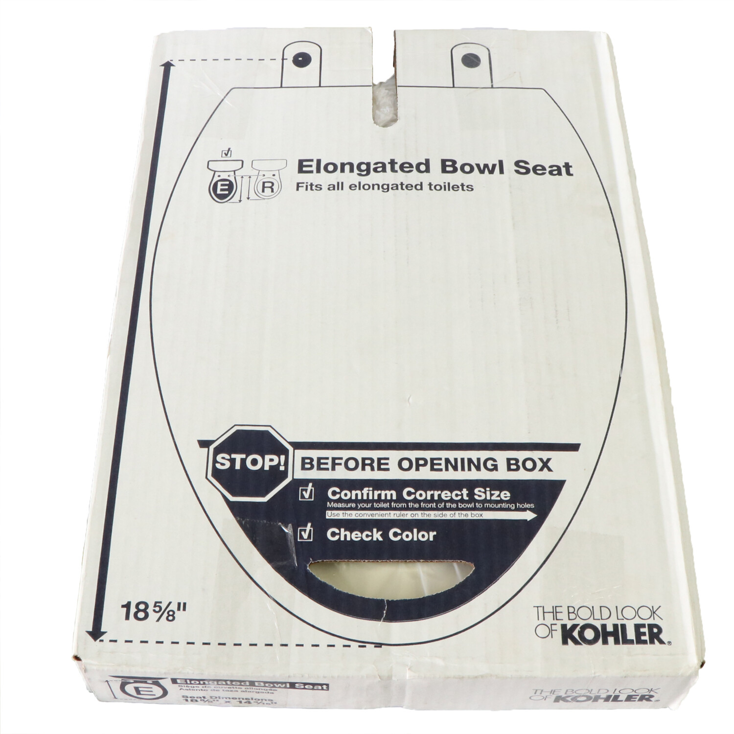Kohler Elongated Toilet Seat K-4734-47