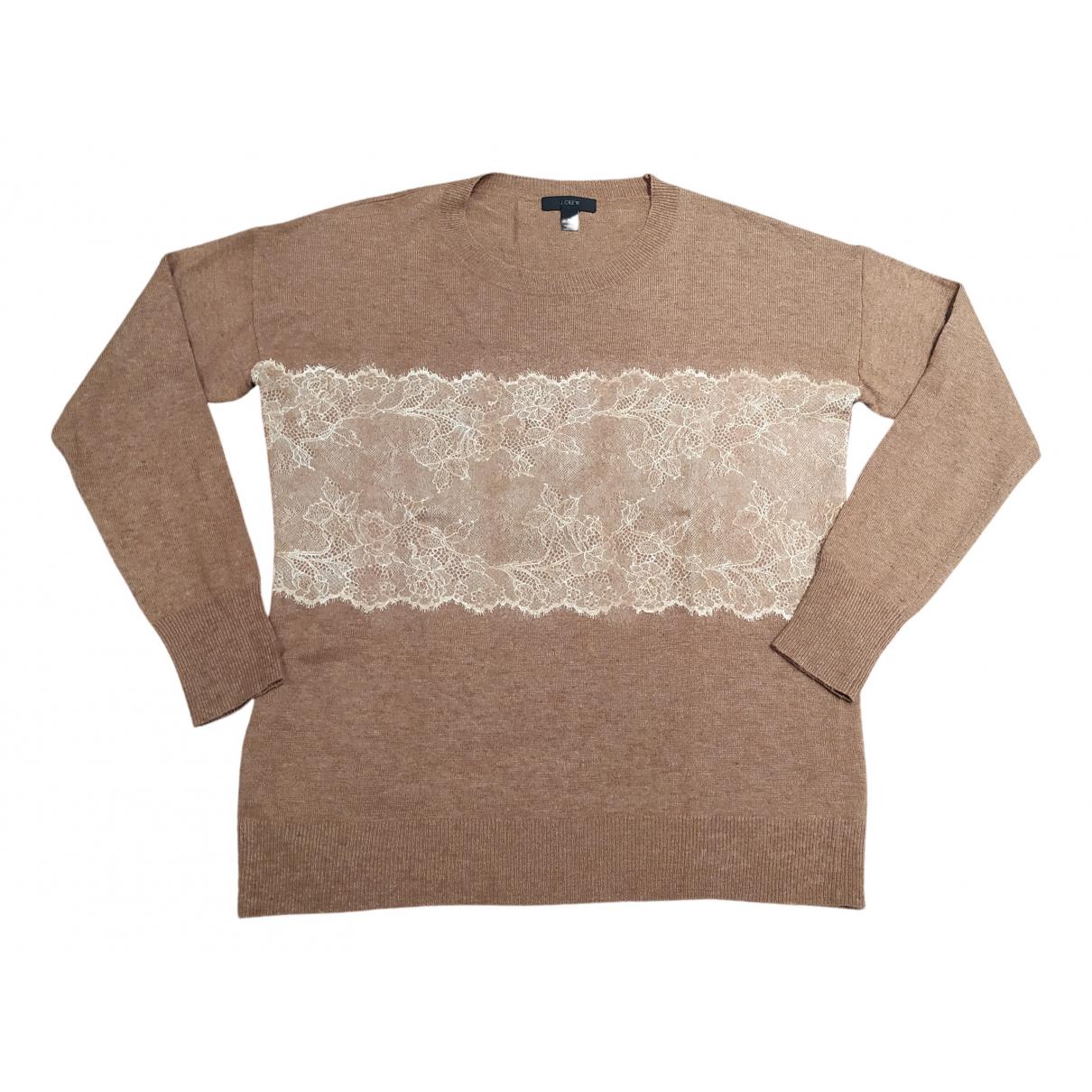 J.crew N Brown Wool Knitwear for Women S International