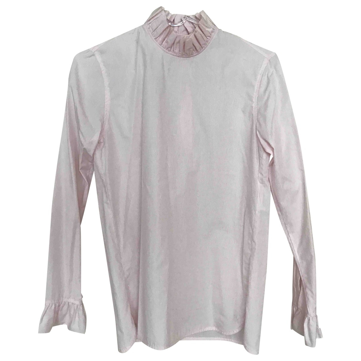 Sandro - Top   pour femme en coton - rose