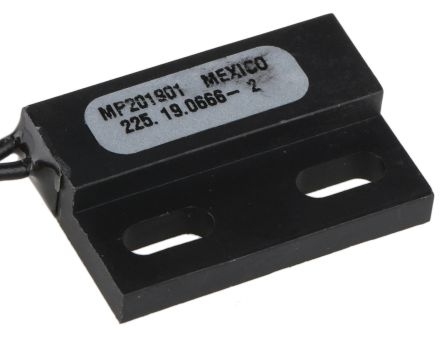 ZF Rectangular Magnetic Proximity Sensor Inductive Proximity Sensor, 28.58 x 19.1 x 6.35 mm