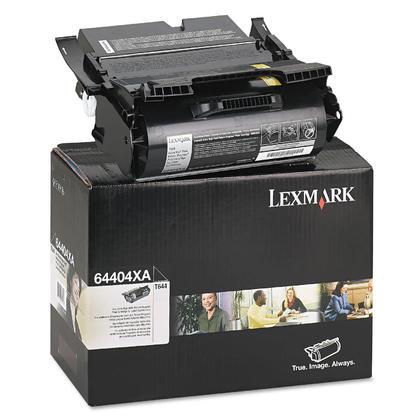 Lexmark T644 64404XA cartouche de toner originale noire haute capacité