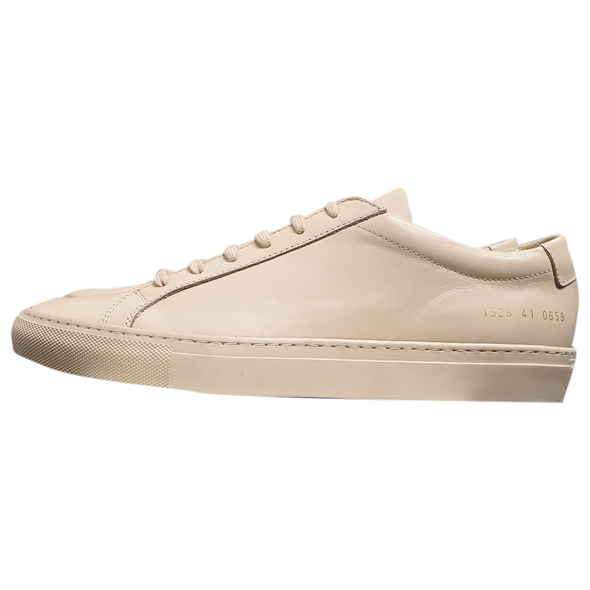 Common Projects N Pink Leather Trainers for Men 41 EU