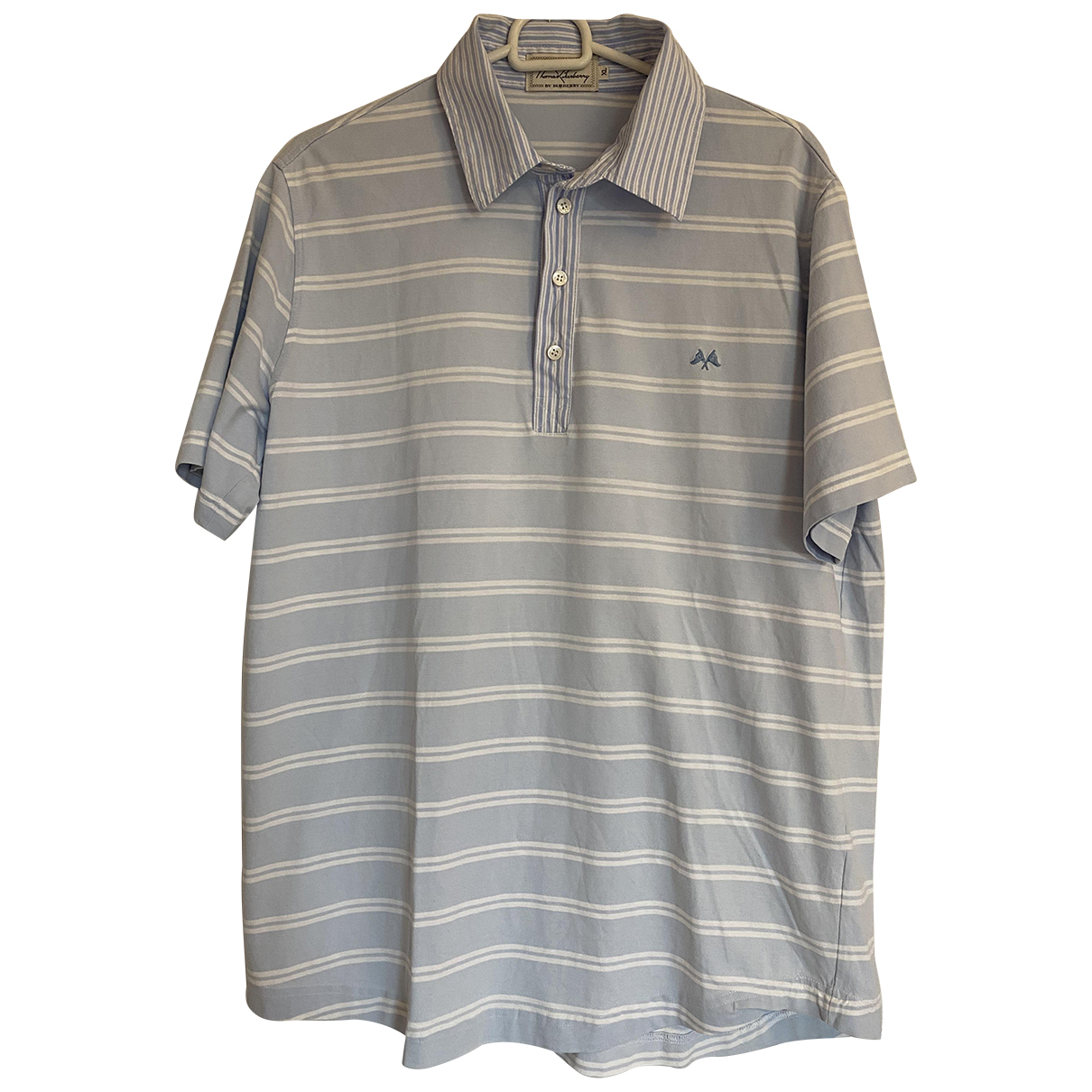 Burberry \N Multicolour Cotton Polo shirts for Men XL International