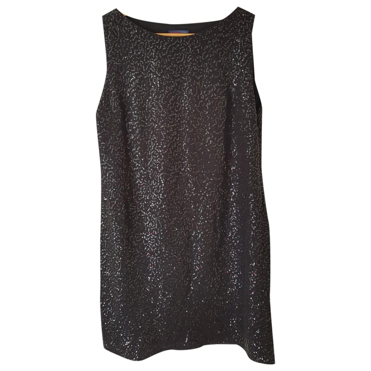 Trussardi Jeans \N Kleid in  Schwarz Synthetik