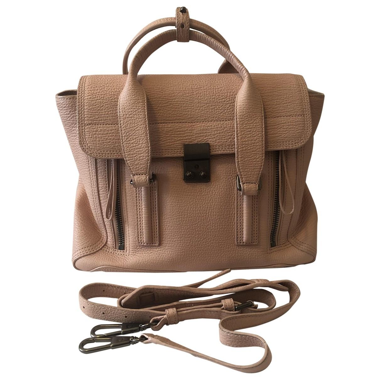 Philipp Plein \N Handtasche in  Rosa Leder