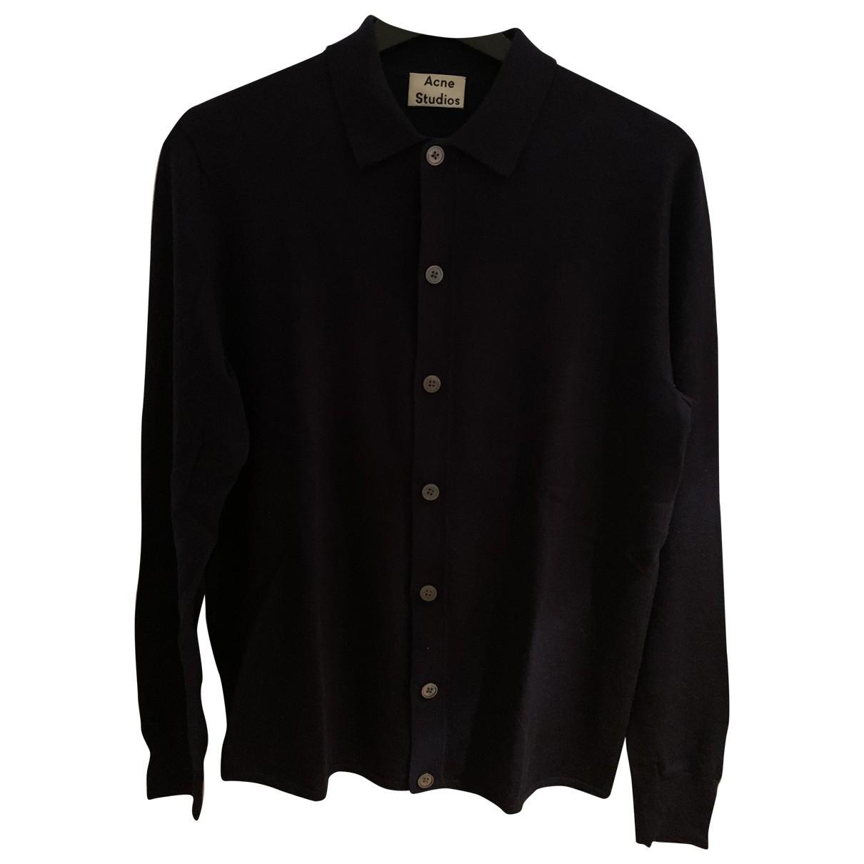 Acne Studios \N Black Wool Knitwear & Sweatshirts for Men S International