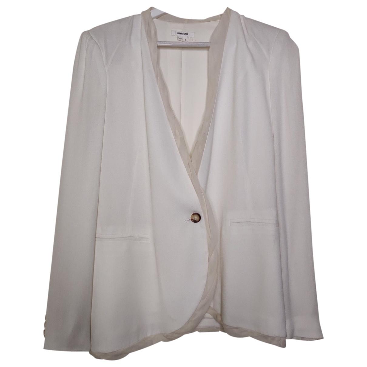 Helmut Lang \N White jacket for Women 2 US
