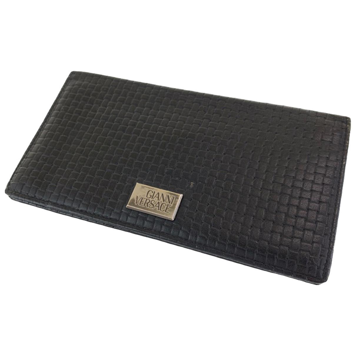 Gianni Versace - Petite maroquinerie   pour homme en cuir