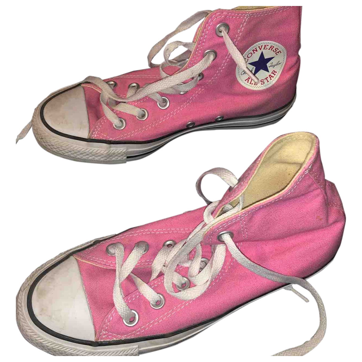 Converse \N Pink Cloth Trainers for Women 37 EU