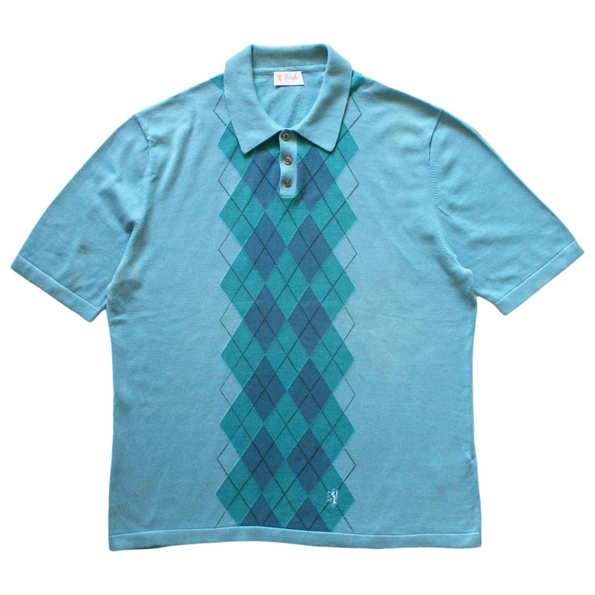 Pringle Of Scotland \N Poloshirts in  Blau Baumwolle