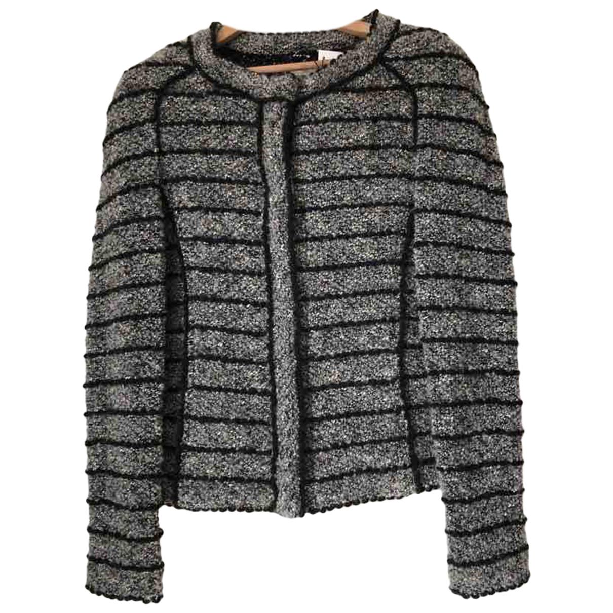 Isabel Marant Etoile \N Jacke in  Grau Wolle