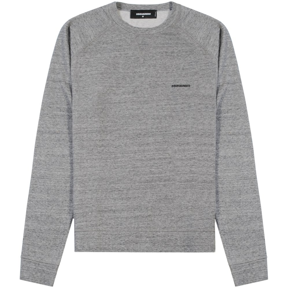 Dsquared2 Classic Logo Sweatshirt Grey Colour: GREY, Size: EXTRA LARGE