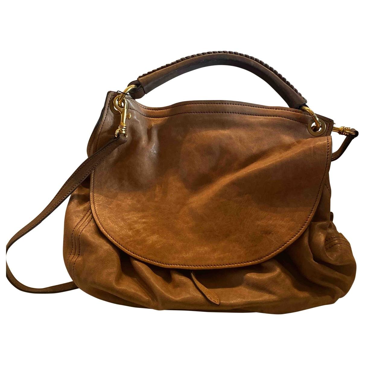 Miu Miu \N Camel Cloth handbag for Women \N