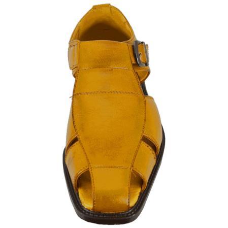 Mens Tan Sandal