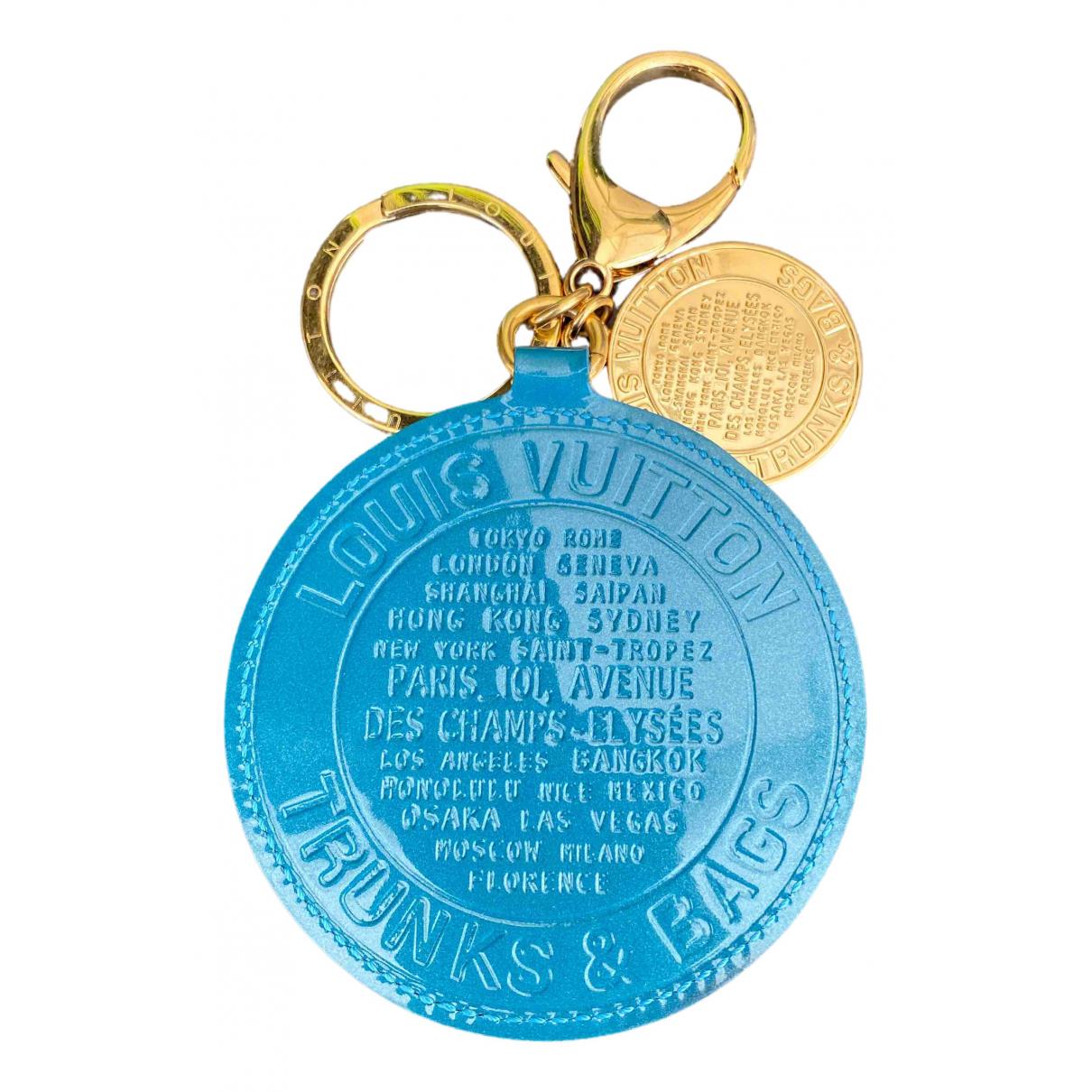 Louis Vuitton \N Blue Steel Bag charms for Women \N