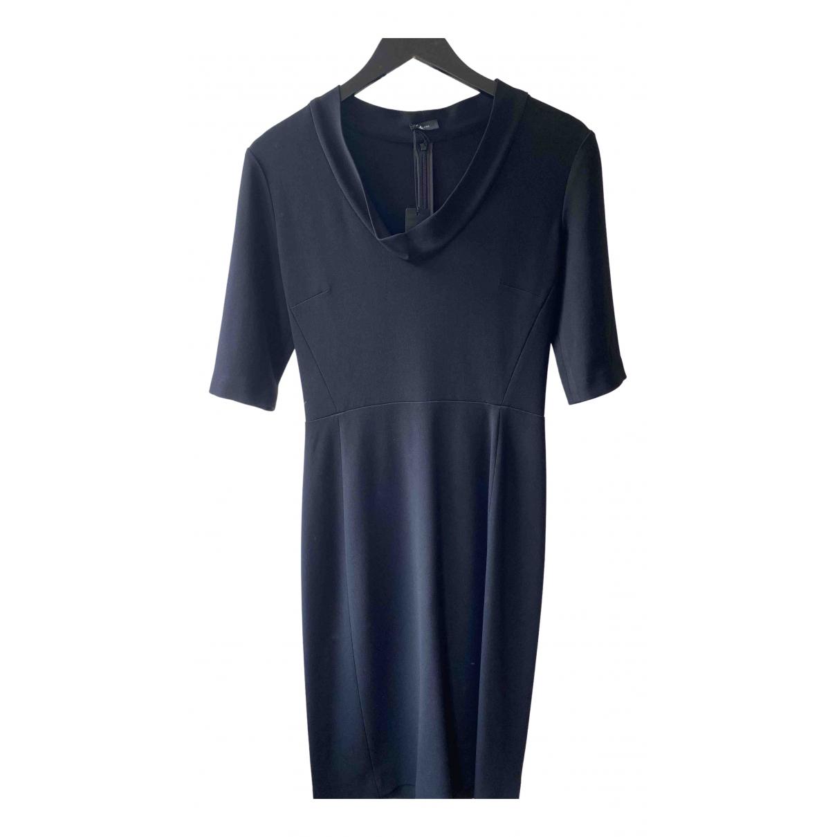 Joseph \N Kleid in  Schwarz Viskose