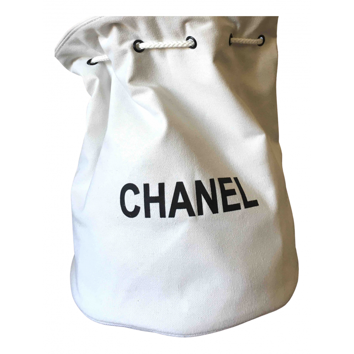 Chanel \N White backpack for Women \N