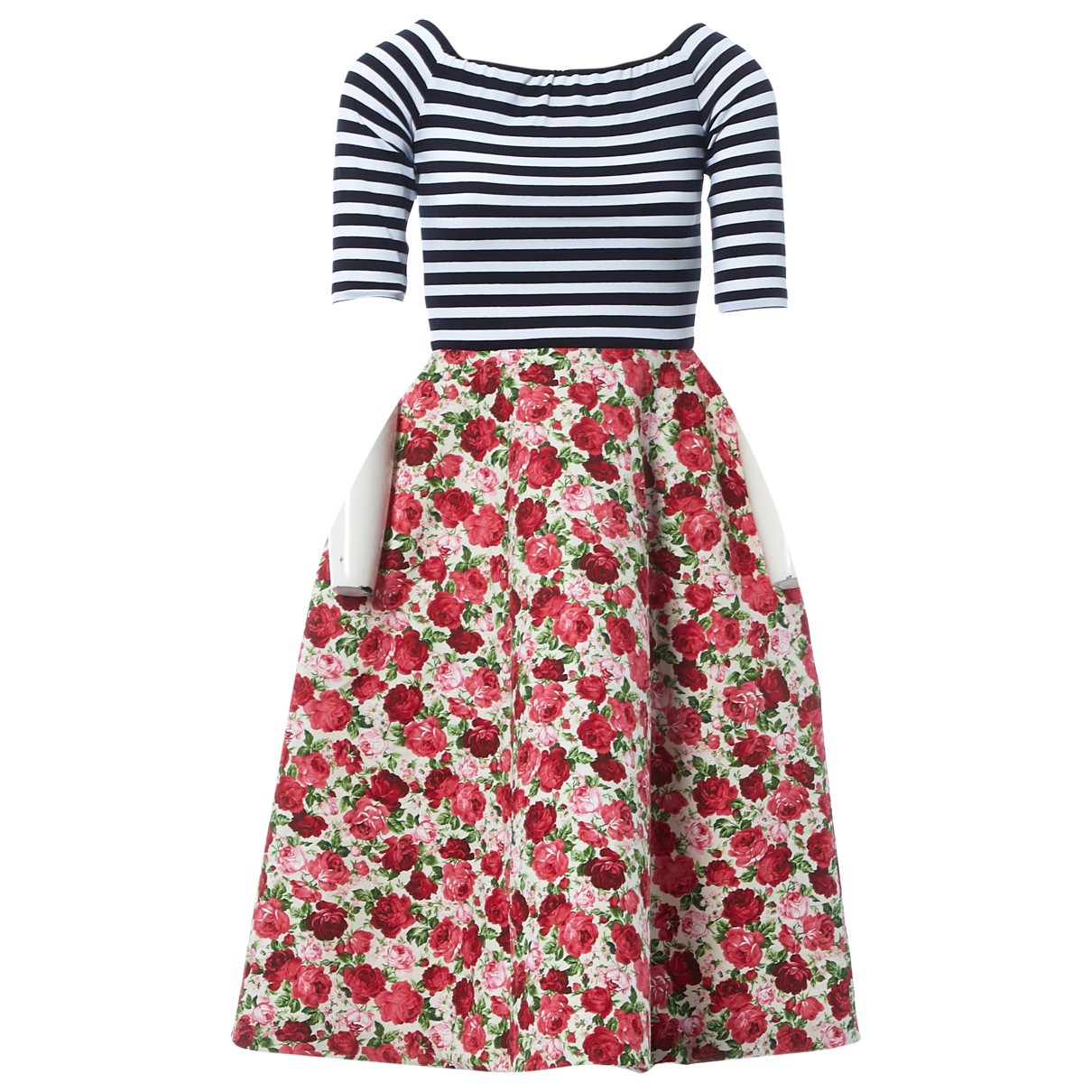 Natasha Zinko \N Kleid in  Bunt Polyester
