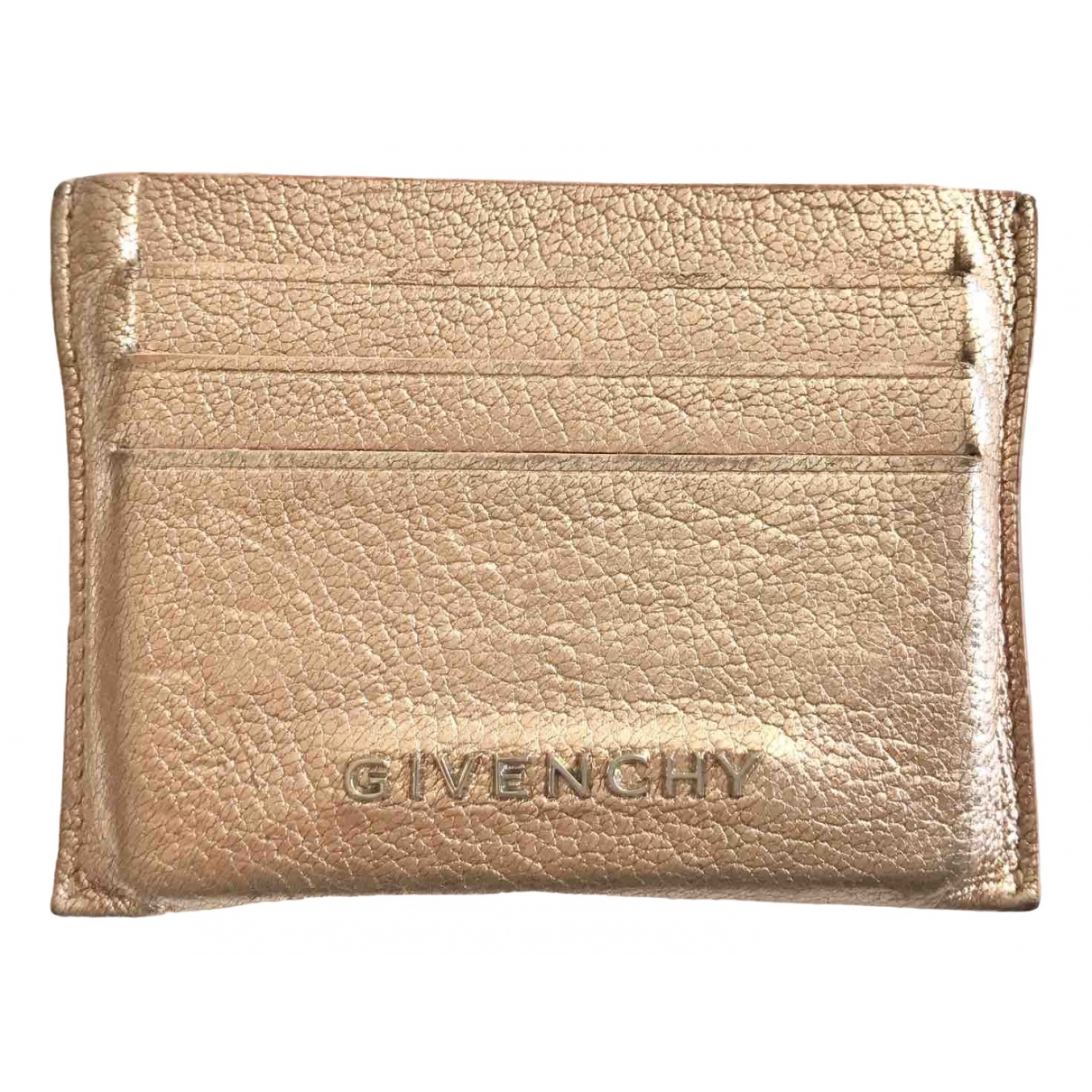 Givenchy \N Metallic Leather Purses, wallet & cases for Women \N