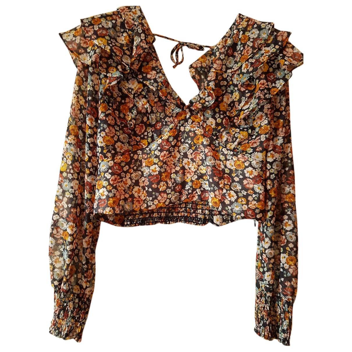 Zara \N Top in  Bunt Polyester