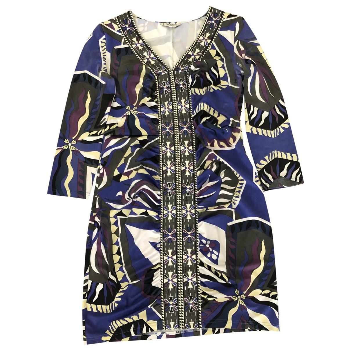 Emilio Pucci \N Multicolour Silk dress for Women 40 IT